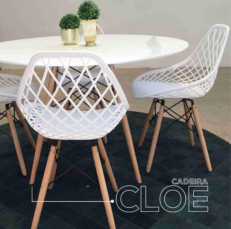 Cadeira Cloe - Base Aço - Rivatti | 3D Warehouse